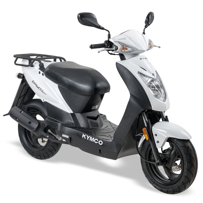 Kymco - Kymco-Agility-oak-special-korting-discount-12-brom-snor-brommer-snorscooter-scooter-scooters-tensen-tweewielers-westland-oak-zwart-black-delivery-wit-white