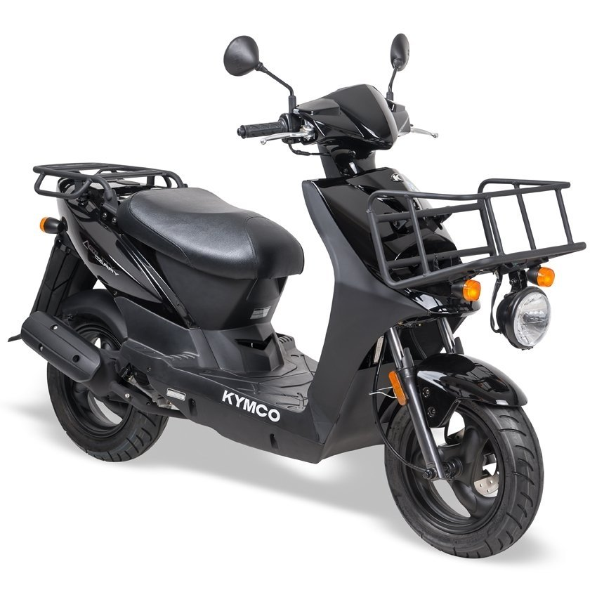 Kymco-Agility-oak-special-korting-discount-12-brom-snor-brommer-snorscooter-scooter-scooters-tensen-tweewielers-westland-oak-zwart-black-delivery-carry-wit-white-black-zwart