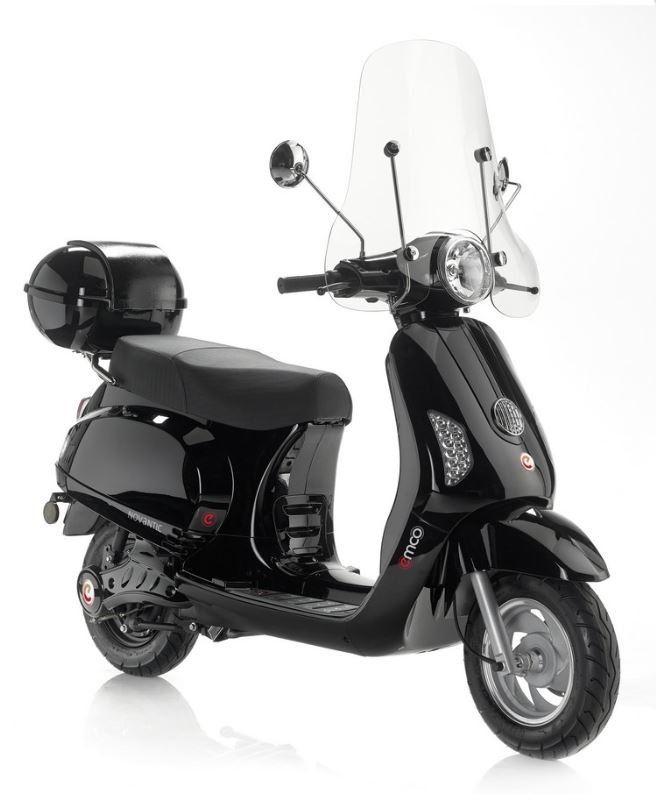 emco novantic elektrische scooter tensen 2 wielers westland. Black Bedroom Furniture Sets. Home Design Ideas