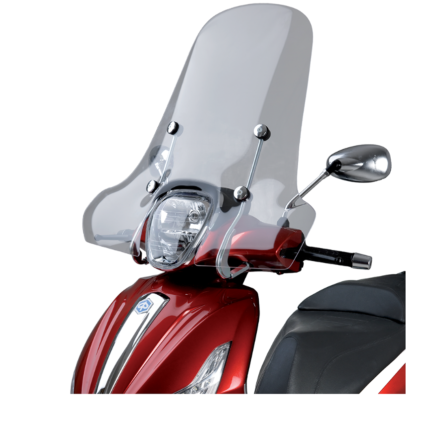 Windscherm - piaggio-medley-beverly-windscherm-origineel-windsheeld-motorscooter-motor-scooter