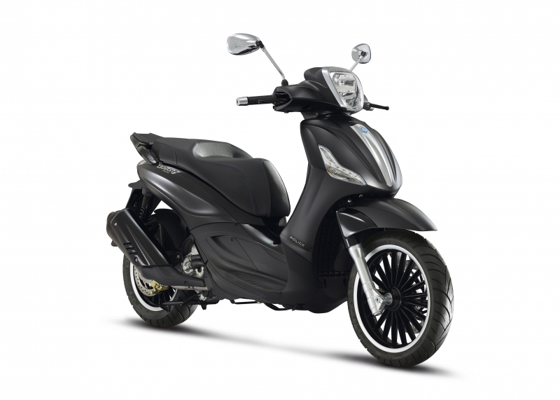 NIEUW! Piaggio Beverly 300S ABS Police